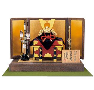 国宝赤糸威「竹に虎雀大鎧」の兜 四分之一模写