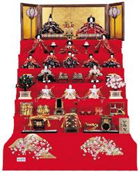 雛人形七段飾りセット