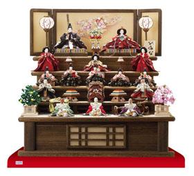 雛人形焼桐五段飾りセット