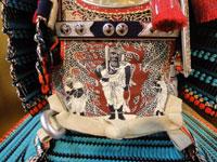 広島 厳島神社所蔵 国宝 浅葱綾威大鎧 (鎌倉時代後期)模写鎧