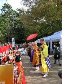 人形のまち岩槻 人形供養祭