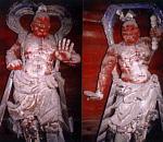 人形のまち岩槻 金剛院 金剛力士像