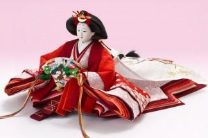 人形のまち岩槻 小木人形 焼桐五段飾りセット