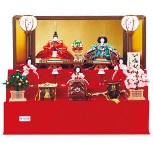 人形のまち岩槻 小木人形 雛人形 人気の三段飾りのおひなさま