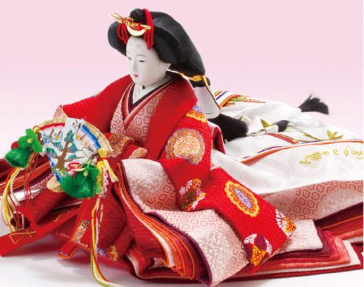 人形のまち岩槻 小木人形 雛人形 人気の焼桐親王飾り