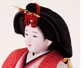 人形のまち岩槻 小木人形 人気のお顔の雛人形