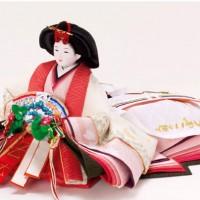 人形のまち岩槻 小木人形 雛人形 コンパクト焼桐高床台親王飾り