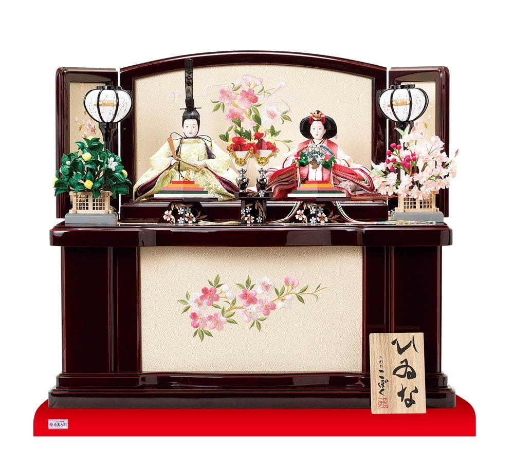 人形のまち岩槻 小木人形 雛人形 収納飾り No1026