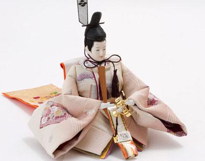 人形のまち岩槻 小木人形 人気の塗桐三段飾り