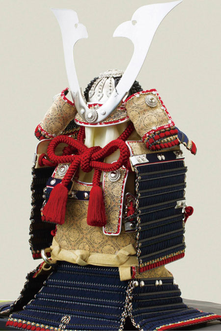 五月人形 広島 厳島神社所蔵  国宝模写 糸威大鎧 鎧飾り