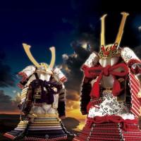 五月人形 紫裾濃大鎧 御岳神社