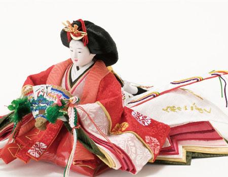 人形のまち岩槻 小木人形 雛人形 京十二番親王飾り