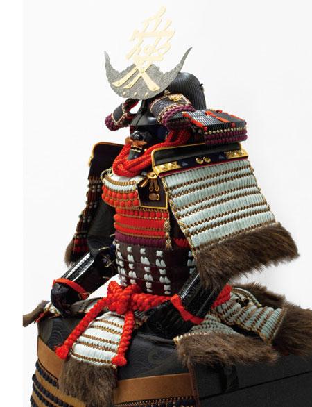 五月人形は人気の武将 直江兼続公 鎧飾り No3241