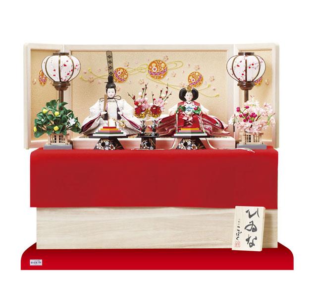 雛人形 京小十番親王収納飾り No1022