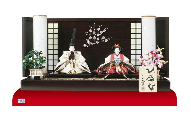 雛人形・塗り台京小十番親王飾り 商品番号 No1008