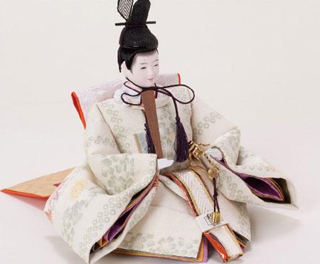 雛人形・塗り台京小十番親王飾り 商品番号 No1008 男雛