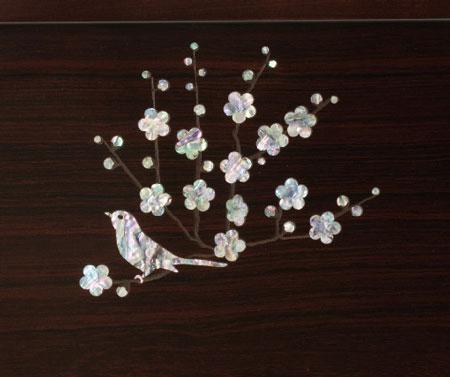 雛人形・塗り台京小十番親王飾り 商品番号 No1018 ひな屏風