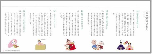 ひな祭り 桃の節句 Q&A