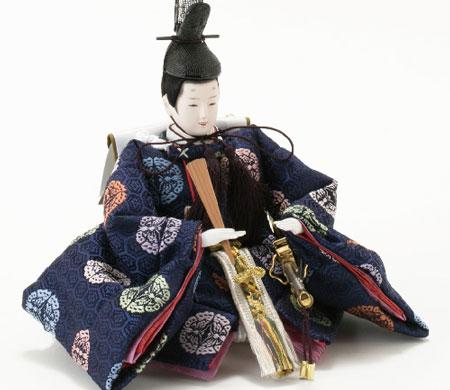 雛人形・京小十番親王柳官女付焼桐三段飾りセットNo2993