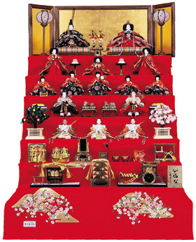 雛人形 七段飾りセット