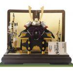 重要文化財・紫裾濃威大鎧 東京 御岳神社所蔵 鎌倉時代中期 模写平台兜飾りセット