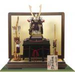 重要文化財・紫裾濃威大鎧 東京 御岳神社所蔵 鎌倉時代中期 模写平台鎧飾りセット